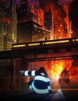 Пламенная Бригада Пожарных / Enen no Shouboutai смотреть онлайн