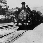 Прибытие поезда на вокзал города Ла-Сьота / L` Arrivée d`un train à la Ciotat