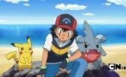"""Покемон / Pokemon - 13 сезон, 631 серия """"Гневное сражение вместе с огнём!"""""""