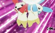 """Покемон / Pokemon - 13 сезон, 630 серия """"Битва, полная восхищения! """""""