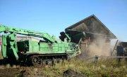 Демонтаж аварийных построек сводным отрядом Минобороны России в Тулуне