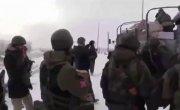 6 января 2015.Последняя ротация укропов в аэропрту Донецка