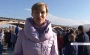 Грандиозное авиашоу в небе над Красноярском устроили «Русские витязи»
