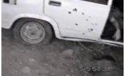 Расстрел автомобиля с боевиками в Чечне. 18+