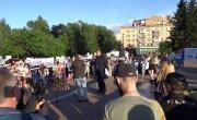 Красноярск ЗА ЧИСТОЕ НЕБО - митинг на Красной Площади 03.07.2019  - #ЗАЧИСТОЕНЕБО