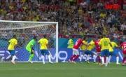 Бразилия 1:1 Швейцария (17 июня 2018). Обзор матча
