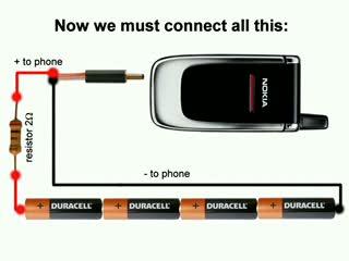 Зарядка для аккумулятора от телефона своими руками