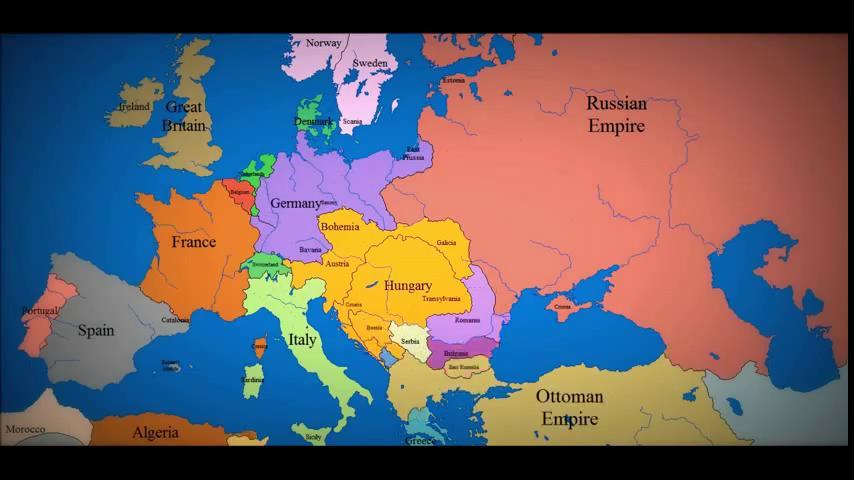 История европы 1000-2003