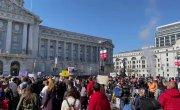 Сан-Франциско прямо сейчас вышел в знак поддержки Алексея Навального. 23.01.2021