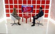 Интервью на 8 канале. Валерий Власов, Мария Романова