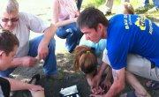 трех девочек сбил джип на копылова 48 / 4 июня 2012