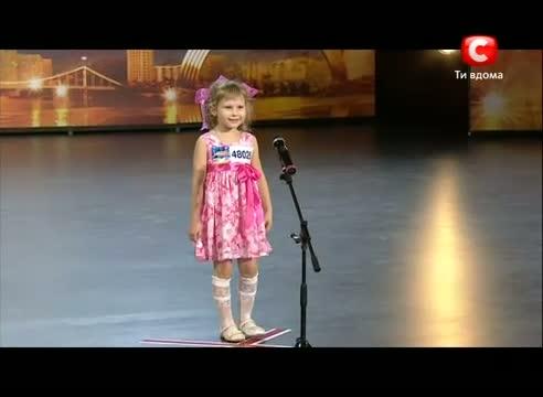 Конкурс талантов дети украина видео