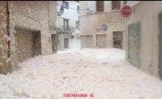 На Испанию обрушился шторм «Глория»,