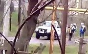 ОБСЕ тащит веревкой заминированный труп УкрОпа. Донбасс, весна 2015.