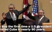 Руки прочь! — Кастро опозорил Обаму, оттолкнув и схватив его, как преступника