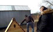 Строим новый дом бабушке Нине