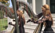 METALLICA - Fade to Black (Harp Twins) Camille and Kennerly