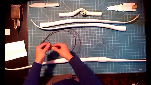 Как сделать лук своими руками из пвх труб своими руками