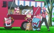 """Покемон / Pokemon - 22 сезон, 128 серия """"Занавес поднимается! Лига Покемонов Алолы!!"""""""