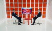 Интервью на 8 канале. Алексей Воложанин, Александр Глисков