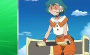 """Покемон / Pokemon - 22 сезон, 119 серия """"Супер скоростной Куваганнон! Пробуждение Мамане!!"""""""