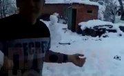 Краснодарский снег