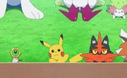 "Покемон / Pokemon - 22 сезон, 133 серия ""Воздушная битва! Смелая Птица против Небесного Натиска!!"""