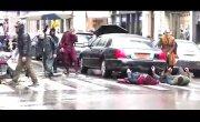 Доктор Стрэндж / Doctor Strange - Небольшое видео с Бенедиктом Камбербэтчем и Чиветелем Эджиофором, снимавшимися в «Докторе Стрэндже» на этих выходных в Нью-Йорке
