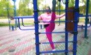 Первые шаги Алёны в уличном спорте (2019, Красноярск)