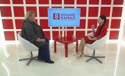 Интервью на 8 канале. Ирина Иванова, Анна Бель