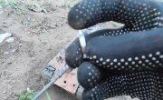 Ягдпантера - испытание обстрелом и ходовые качества, пластилиновая модель