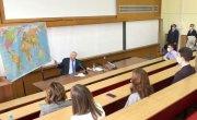 Жириновский открыл великую тайну для студентов