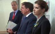 Жена Порошенко показала немцам украинский газ
