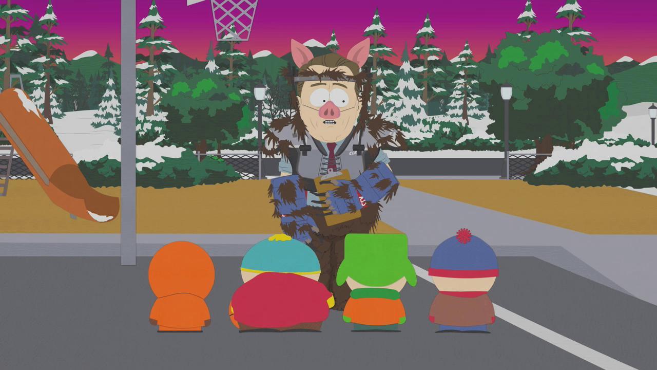 Мультфильм южный парк челмедведосвин картинки