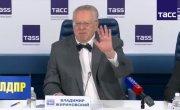 Пресс-конференция ТАСС: ЛДПР, Владимир Жириновский. Полная версия.