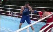 Испания - Россия. Джалидов - Хатаев. Тяжелейший нокаут. Олимпиада 2021