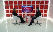 Интервью на 8 канале. Валерий Власов, Ольга Землянова