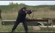 Упражнение удержания оружия по методике Петрова