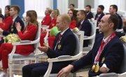 Церемония вручения государственных наград победителям ХVI Паралимпийских летних игр в Токио