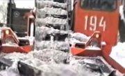 Как убирали снег в 90 -х
