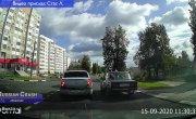 """Подборка ДТП и аварий от канала """"Russian Crash"""" за 15.09.2020 №1712"""