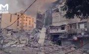 Израильская авиация бомбит жилые кварталы