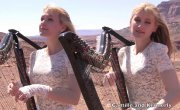 SCORPIONS - Send Me An Angel (Harp Twins) Camille and Kennerly