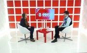 Интервью на 8 канале. Валерий Власов, Надежда Мешкова
