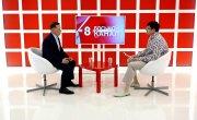 Интервью на 8 канале. Валерий Власов, Виталий Осипов