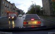 Бык на дороге и перцовый газ