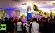 В Брюсселе курды штурмовали здание Европарламента