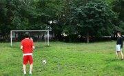 Кержаков бьет пенальти на ЕВРО 2012