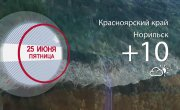 Погода в Красноярском крае на 25.06.2021