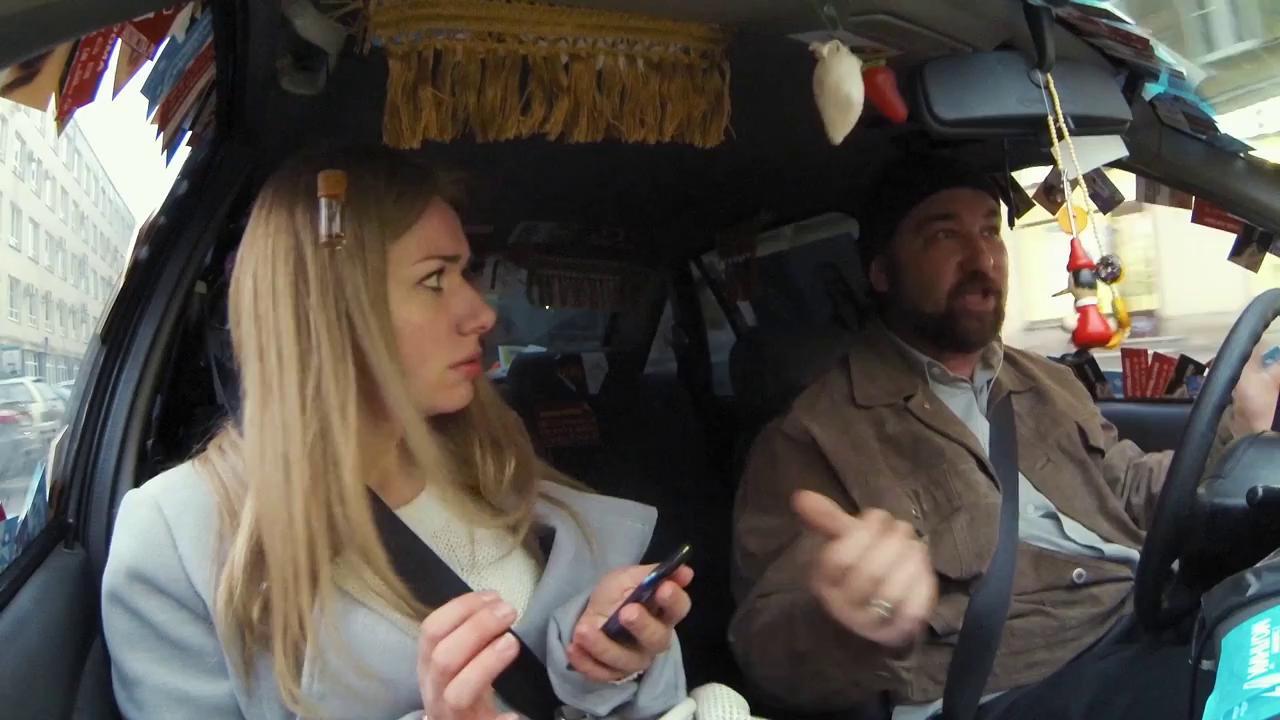 Смотреть секс фильм приставания в такси